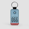 OGG - Leather Keychain