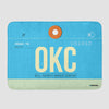 OKC - Bath Mat - Airportag