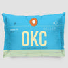 OKC - Pillow Sham - Airportag