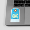 OKC - Sticker