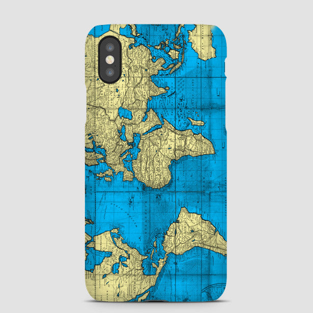 Old World Map Phone Case