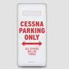 Cessna Parking Only - Phone Case - Airportag