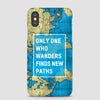 Only One Who Wanders - Phone Case