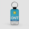 ONT - Leather Keychain - Airportag