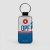OPF - Leather Keychain - Airportag