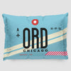ORD - Pillow Sham - Airportag