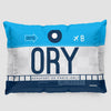 ORY - Pillow Sham - Airportag