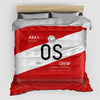 OS - Duvet Cover - Airportag