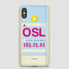 OSL - Phone Case - Airportag