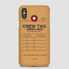 Pan Am - Crew Tag - Phone Case
