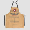 Pan Am - Crew Tag - Kitchen Apron - Airportag