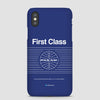 Pan Am First Class - Phone Case - Airportag
