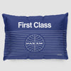 Pan Am First Class - Pillow Sham - Airportag