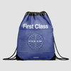 Pan Am First Class - Drawstring Bag - Airportag