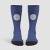 Pan Am Logo - Socks airportag.myshopify.com