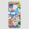 Pan Am Stickers - Phone Case - Airportag