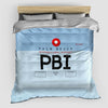 PBI - Duvet Cover - Airportag
