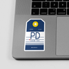 PD - Sticker