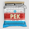 PEK - Duvet Cover - Airportag