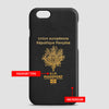 France - Passport Phone Case