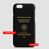 Germany - Passport Phone Case - Airportag