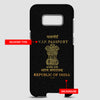 India - Passport Phone Case