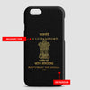 India - Passport Phone Case - Airportag