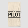 Pilot - Beach Towel - Airportag