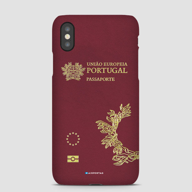Cover Mobile Passport - Case Portugal Phone