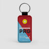 PRG - Leather Keychain