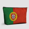 Portuguese Flag - Pouch Bag - airportag  - 1