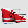 QF - Pouch Bag - airportag  - 3