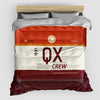 QX - Duvet Cover - Airportag