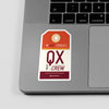 QX - Sticker