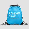 Random Crap - Drawstring Bag - Airportag