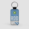 RDD - Leather Keychain