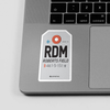 RDM - Sticker
