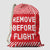 Remove Before Flight - Laundry Bag
