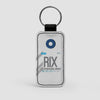 RIX - Leather Keychain - Airportag