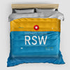 RSW - Duvet Cover - Airportag