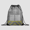 Runway - Drawstring Bag - Airportag