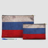 Russian Flag - Pouch Bag - airportag  - 5