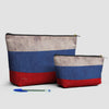 Russian Flag - Pouch Bag - airportag  - 3