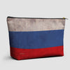 Russian Flag - Pouch Bag - airportag  - 1