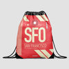 SFO - Drawstring Bag