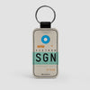 SGN - Leather Keychain - Airportag