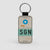 SGN - Leather Keychain