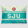 SJU - Pillow Sham - Airportag