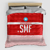 SMF - Duvet Cover - Airportag