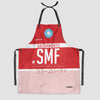 SMF - Kitchen Apron - Airportag